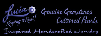 Lucia Gemstone Jewelry – Lucia's Handcrafted Jewelry Logo